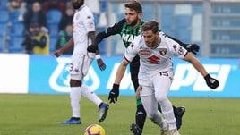 Serie A Sassuolo-Torino 1-1, il tabellino