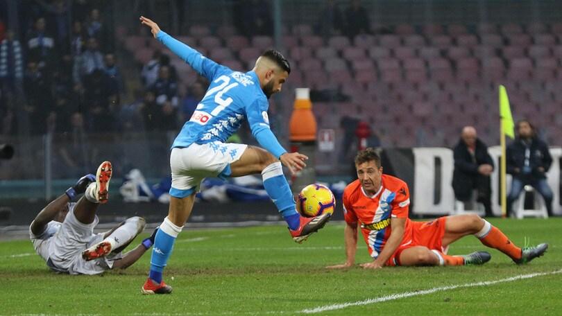 Serie A Napoli-Spal 1-0, il tabellino