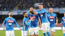 Serie A: al Napoli basta Albiol contro la Spal, la Fiorentina beffa il Milan con Chiesa