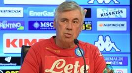 Napoli, Ancelotti: «Pensare alla Juventus rischia di demotivarci»