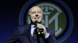 Inter, Marotta frena sul mercato:«Nessun colpo a gennaio»
