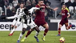 Serie A Juventus-Roma 1-0, il tabellino