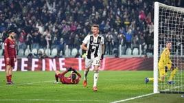 Serie A, Juventus-Roma 1-0: decide Mandzukic al 35'