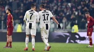 Juventus-Roma, il film della partita
