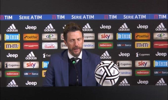 """Di Francesco: """"Classifica corta è un vantaggio per noi"""""""