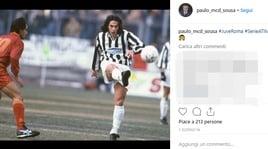 Juventus-Roma, il post di Paulo Sousa che scatena i social