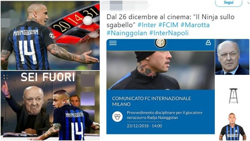 Nainggolan sospeso: sui social scoppia la rabbia dei tifosi dell'Inter, che ora rimpiangono Zaniolo