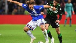 Serie A Sampdoria, anche per Barreto lavoro atletico e tecnico-tattico