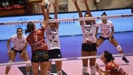 Volley: A2 Femminile, quattro al comando nel Girone B