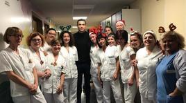 Juventus, CR7 e Georgina in visita ai piccoli pazienti del Regina Margherita