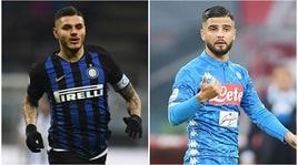 Serie A, Inter- Napoli in diretta alle 20.30: probabili formazioni e dove vederla in tv