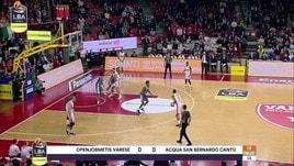 Openjobmetis Varese-Acqua S.Bernardo Cantù 89-71