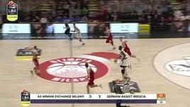 AX Armani Exchange Milano-Germani Basket Brescia 87-75