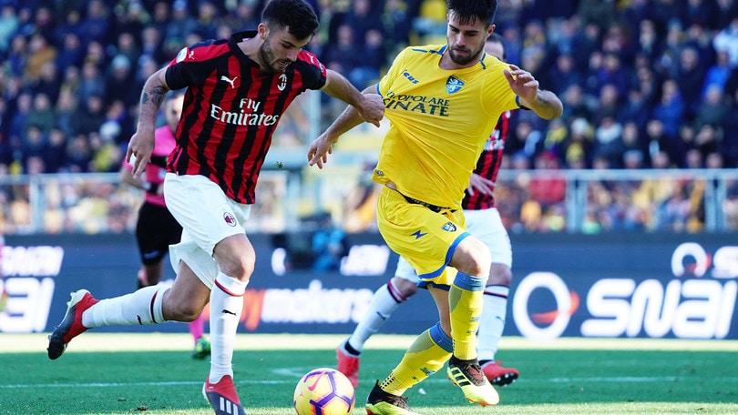 Serie A Frosinone-Milan 0-0, il tabellino