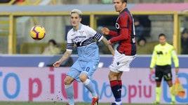 Serie A Bologna-Lazio 0-2, il tabellino