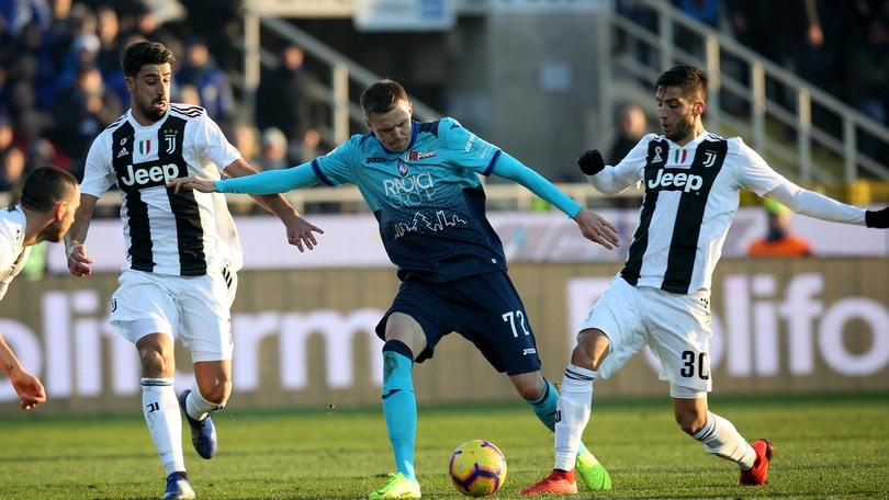 Serie A Atalanta-Juventus 2-2, il tabellino