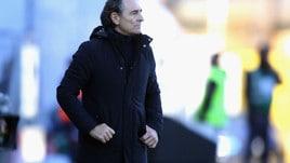 Serie A Genoa, Prandelli: «Avremmo meritato di più»
