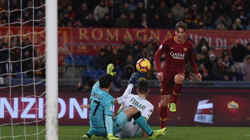 Serie A Roma-Sassuolo 3-1, il tabellino