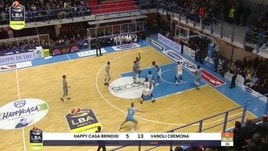 Happy Casa Brindisi-Vanoli Cremona 80-86