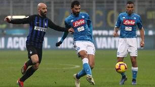 Inter-Napoli, le emozioni del match