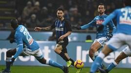 Serie A Inter-Napoli 1-0, il tabellino