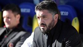 Gattuso: «Ha ragione Ancelotti, fermiamo le partite»