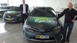Carlsberg rinnova la flotta con Full Hybrid Electric di Toyota