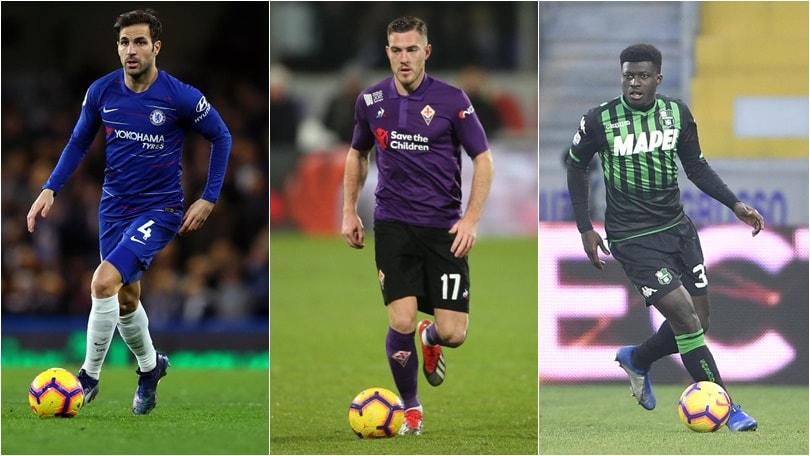 Calciomercato Milan, corsa a tre: Fabregas, Veretout o Duncan