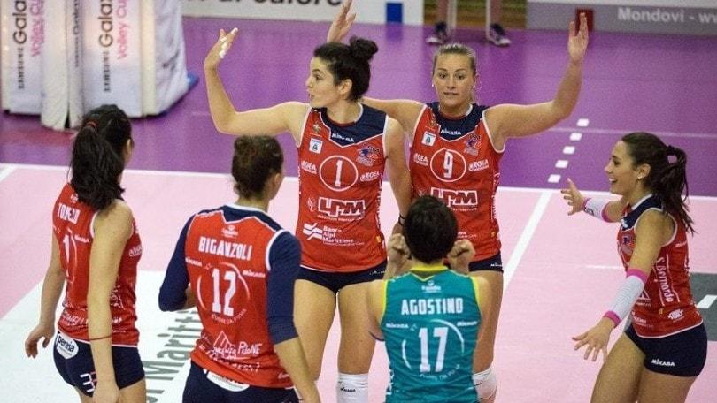 Volley: A2 Femminile, Mondovì-Soverato il big match della 6a di ritorno
