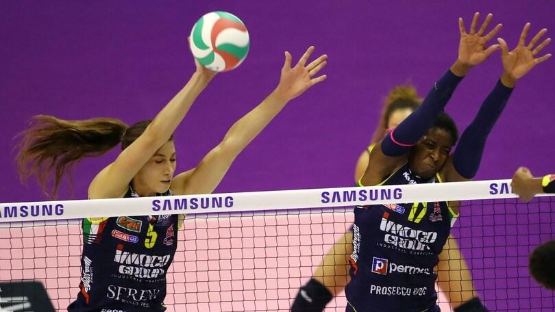 Volley: A1 Femminile, sabato si chiude il girone d'andata