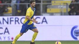 Serie A Frosinone, contro l'Empoli Ariaudo può tornare titolare