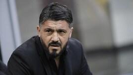 Serie A, Milan-Spal: spinta a Gattuso in lavagna
