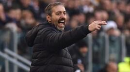 Furia Giampaolo: «Il rigore per la Juventus? Un regalo»