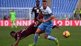 Serie A Lazio-Torino 1-1, il tabellino