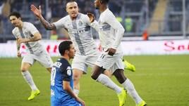 Serie A Empoli-Inter 0-1, il tabellino