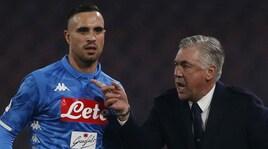 Napoli, Ancelotti:«Su Koulibaly l'Uefa ci dà ragione, sorpreso da Gravina e Nicchi»