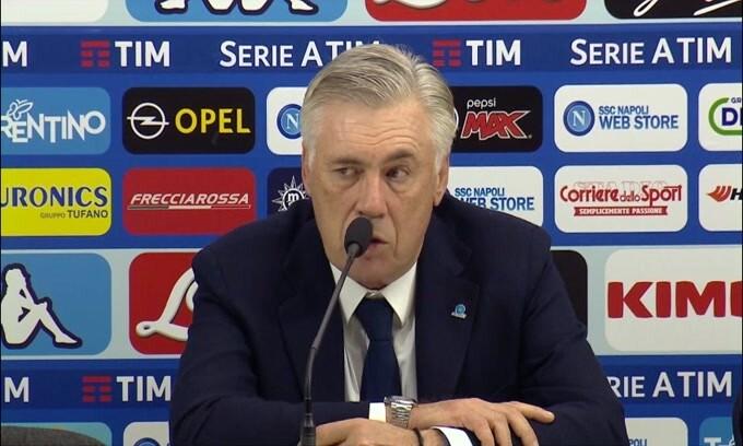 """Ancelotti: """"L'affetto per Koulibaly è un segnale che si puo' migliorare"""""""