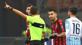 Milan, doppio giallo fatale a Suso: salterà la Supercoppa contro la Juventus