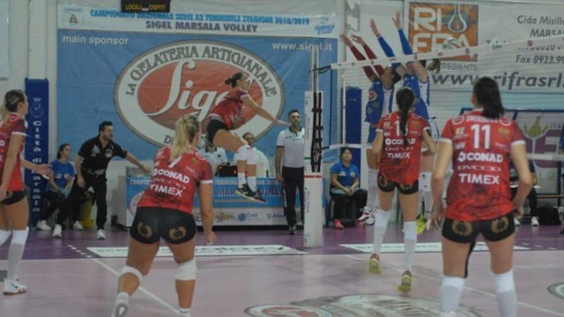 Volley: A2 Femminile, Perugia non fa sconti alla Sigel Marsala