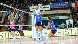 Volley: A1 Femminile, chiusa l'andata con i successi di Novara, Scandicci e Conegliano