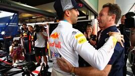 F1 Red Bull, Horner: «Fatto il possibile per tenere Ricciardo»