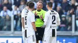 Moviola Serie A, male Valeri: 2 rigori inesistenti in Juve-Samp