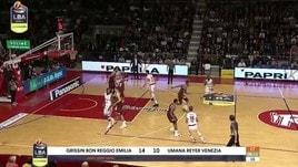 Grissin Bon Reggio Emilia-Umana Reyer Venezia 82-74