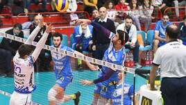 Volley: A2 Maschile, Girone Bianco, cade Brescia, risorge Roma