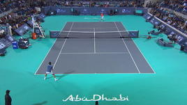Djokovic, che match-point per vincere Abu Dhabi!