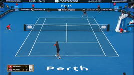 Federer distrugge Norrie a Perth