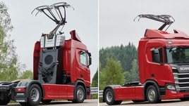 Arriva in Italia l'autostrada elettrica per il trasporto pesante delle merci