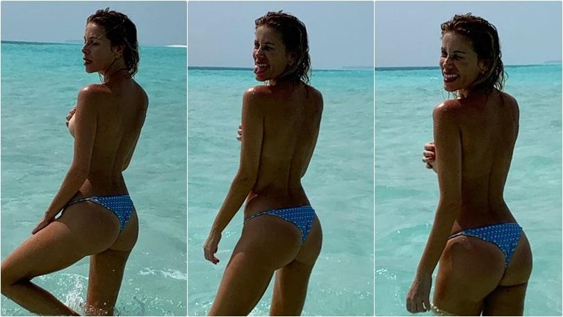 Alessia Marcuzzi, fine 2018 bollente