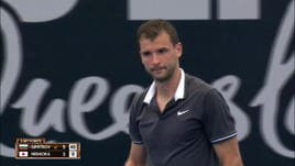 Primo turno a Brisbane, Dimitrov in 2 set su Nishioka