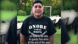 Maradona, messaggio di speranza per l'Argentina